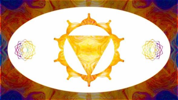 Conscious Spirituality Abstract Chakra Art by Omaste Witkowski owFotoGrafik.com