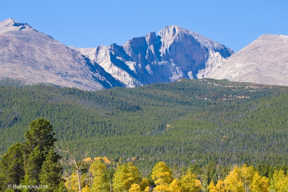 Autumn Season View of CO Rocky Mountains Longs Peak Art