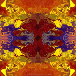 Embracing Transition Abstract Healing Artwork Omaste Witkowski owFotoGrafik.com